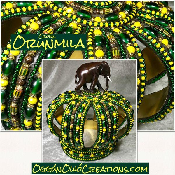 Medium Orunmila crown 2