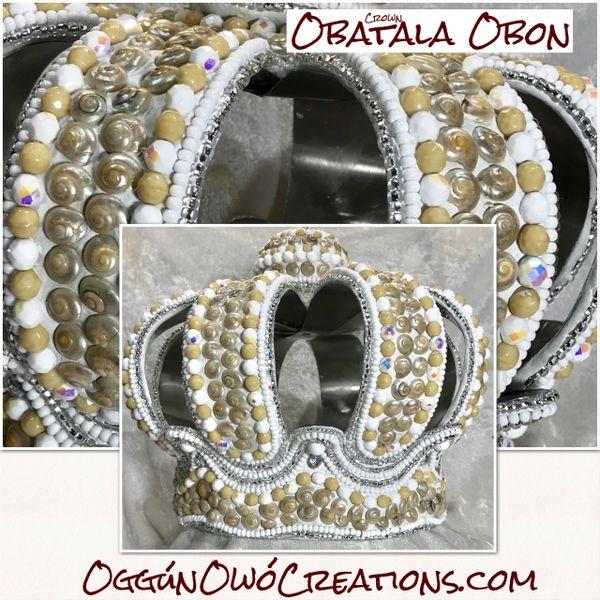 Crown for Obatala Obon