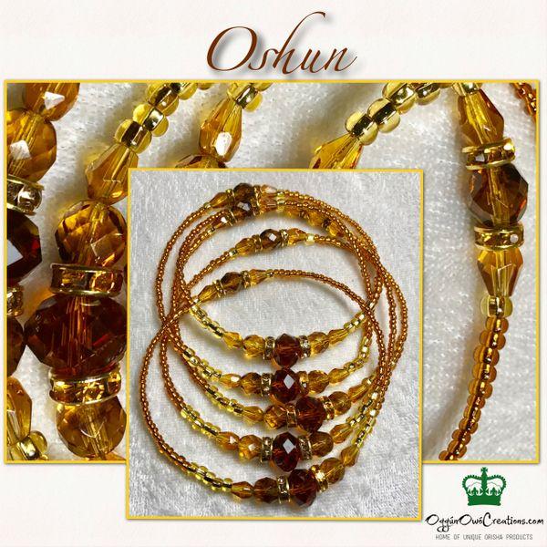 Eleke de Oshun (Amber Colors)