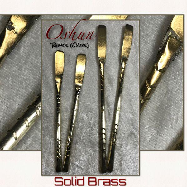 Remos de Oshun Thick Brass