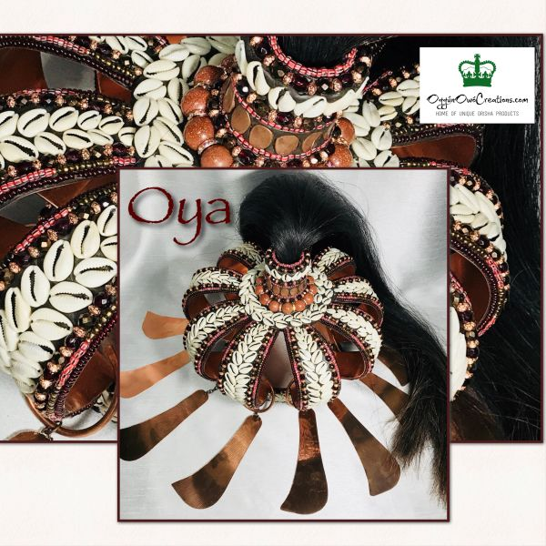 Crown for Oya (large head size )