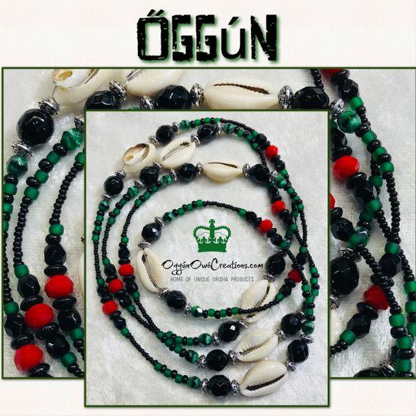 Eleke de Oggun with Cowrie Shells 2