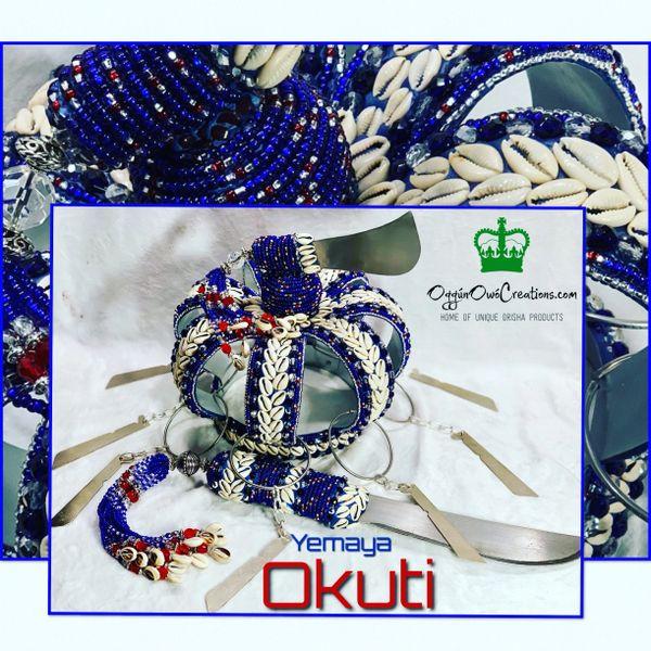 Crown Yemaya Okuti with Machete 2