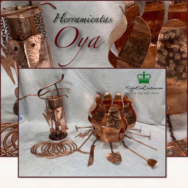 Set of herramientas de Oya (cabecera)
