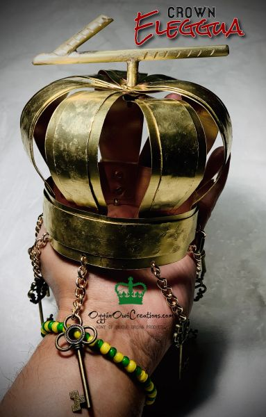 Crown for Eleggúa (Brass)