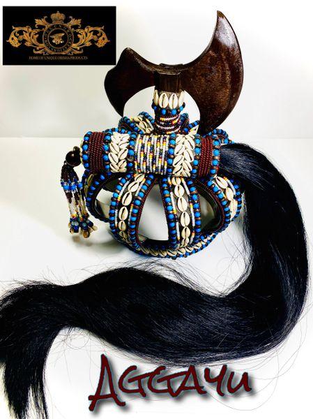Crown and iruke for Aggayu