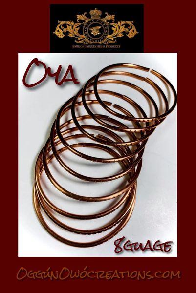Manillas de Oya 8 guage