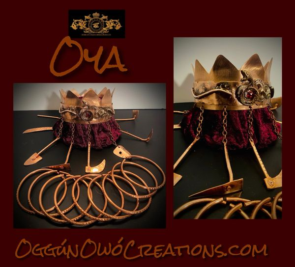 Oya crown set. Small