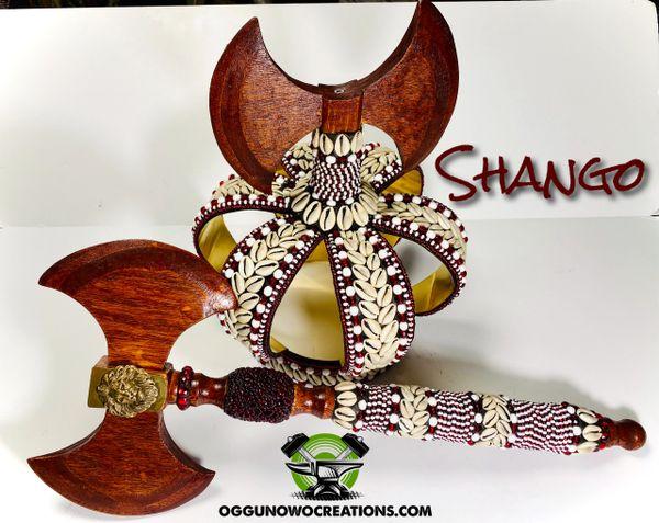 Crown for Chango & Axe 6