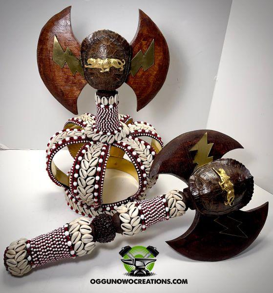 Crown for Chango & Axe 🪓