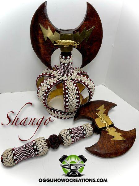Crown for Chango & Axe 🪓3