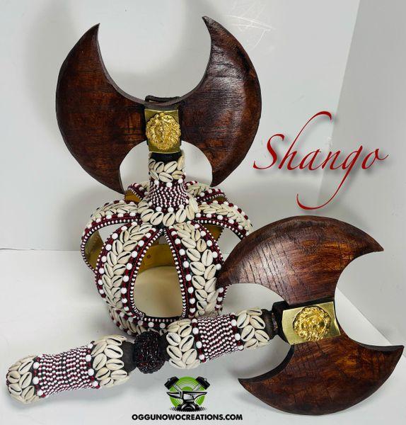 Crown for Chango & Axe 🪓2