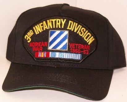 3rd Infantry Division Korean War Ball Cap