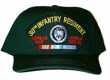 30th Infantry Regiment Korean War Ball Cap