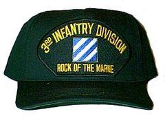 3rd Infantry Division Black Ball Cap