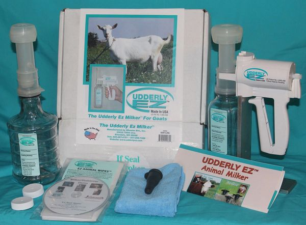 Udderly EZ Lambar Teats Kid Sheep Goat Easy to Use 6 Count
