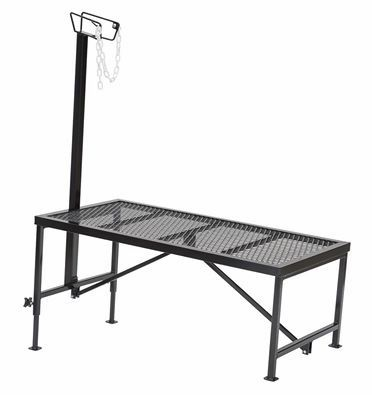Steel Grooming Stand with Head Piece