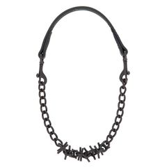 Brahma Webb Goat Collar with Oil Rubbed Chain