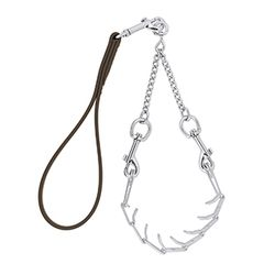 Pronged Chain Goat Collar and Lead Set