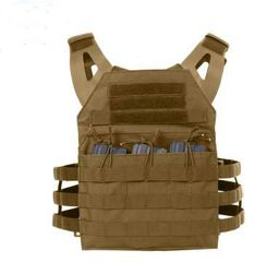ARMOR / ROTHCO LIGHTWEIGHT PLATE CARRIER, COYOTE