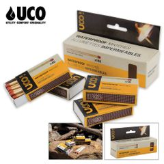 UCO Waterproof Matches, 4-pack