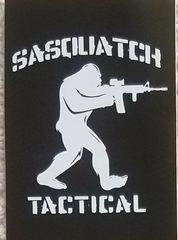 SASQUATCH TACTICAL STICKER