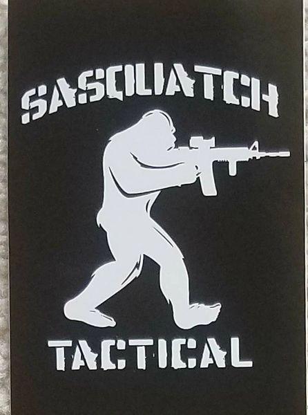 SASQUATCH TACTICAL STICKER