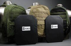 """AR500 Armor® Rimelig 11"""" x 15"""" Backpack Soft Body Armor"""