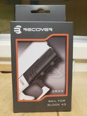 RECOVER TACTICAL RAIL ADAPTER FOR GLOCK 43, 43X, 48, SIG P365, S&W SHIELD, GLOCK 26/27