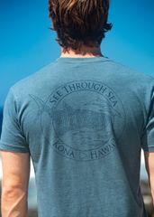 Men's Whale shark STS shirt - Blue