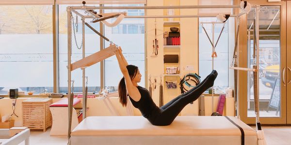 Instructor training at Abena Pilates in UWS