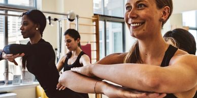 Duet session at Abena Pilates in UWS