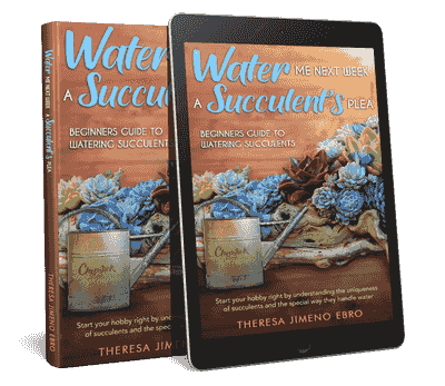 Free Sample Of Water Me Next Week; A Succulent's Plea eBook.