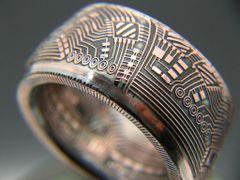 BITCOIN Collectors Coin Ring