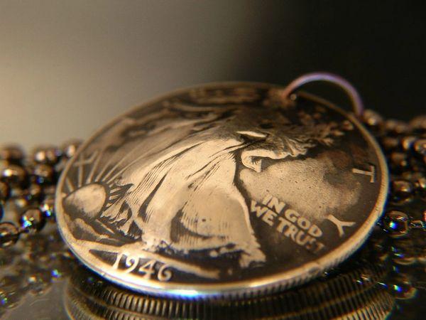 Walking Liberty Half Dollar Pendand or Keychain