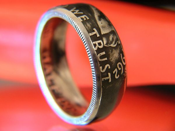 Franklin Half Dollar Coin Ring 1948-1963