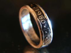 Susan B. Anthony Coin Ring