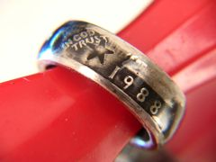 1965-'98 Washington Quarter Coin Rings