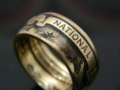 NRA National Rifle Assoc. Coin Ring