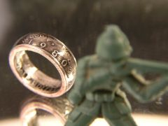 1971-Present Kennedy Half Dollar Coin Ring