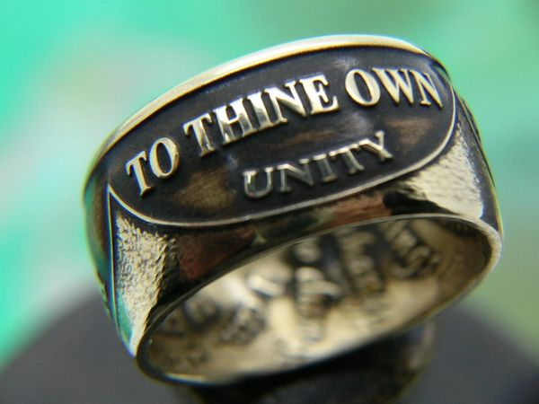 AA Chip Coin Ring