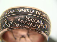 2A Challange Coin Ring