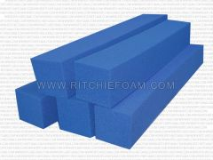 "24"" x 6"" x 6"" Gymnastic Pit Foam Log Cubes/Blocks 500 pcs (Blue)"