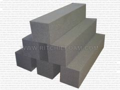 "24"" x 6"" x 6"" Gymnastic Pit Foam Log Cubes/Blocks 500 pcs (Charcoal)"