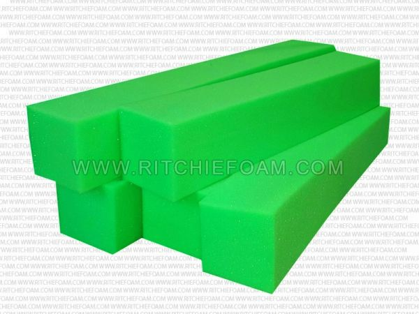 "24"" x 6"" x 6"" Gymnastic Pit Foam Log Cubes/Blocks 500 pcs (Green)"