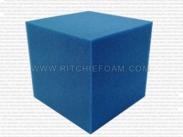 "5""x5""x5"" Gymnastic Pit Foam Cubes/Blocks 250 pcs (Blue)"