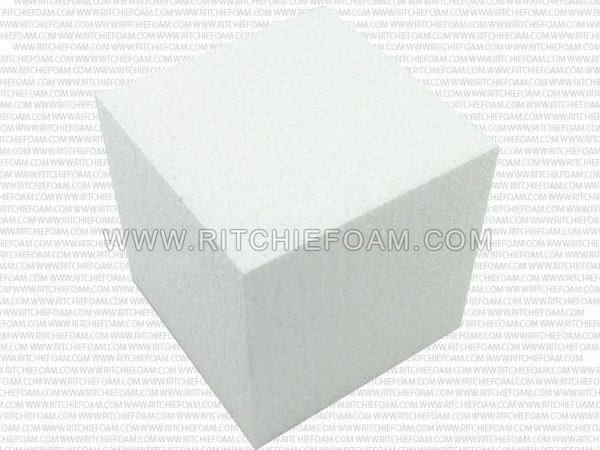 "5""x5""x5"" Gymnastic Pit Foam Cubes/Blocks 250 pcs (White)"