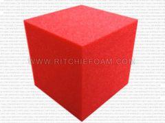 """Gymnastic Pit Foam Cubes/Blocks 108 pcs 4""""x4""""x4"""" (Red)"""
