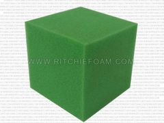 "6""x6""x6"" Gymnastic Pit Foam Cubes/Blocks 168 pcs (Lime Green)"