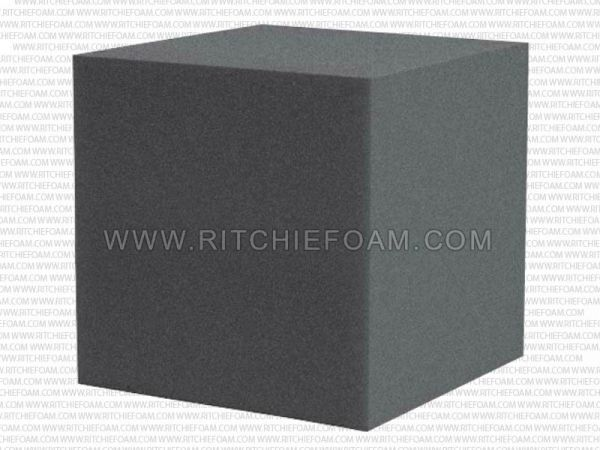 "Gymnastic Pit Foam Cubes/Blocks 68 pcs 8""x8""x8"" (Charcoal)"